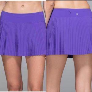 Lululemon Pleat To Street Skirt II | Size 10